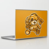 puppy Laptop & iPad Skins featuring Puppy by Omar Sangiovanni