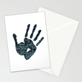 Isaiah 49:16 - Palms of his hands Stationery Cards