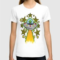 outer space T-shirts featuring OUTER SPACE by Amber's Realm