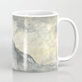 Peder Balke - Mountain Stetind - Northern Norway - Norwegian Oil Painting Coffee Mug