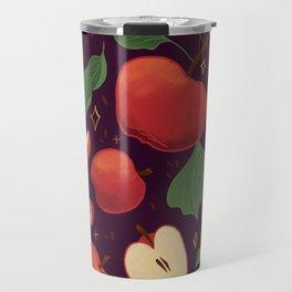 Apple Pattern  Travel Mug