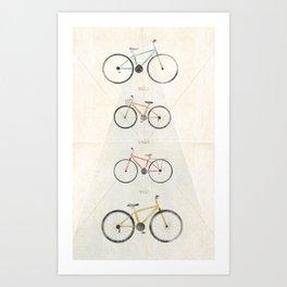 Velo Art Print