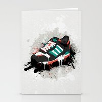 sneaker Stationery Cards featuring Sneaker by Nicu Balan