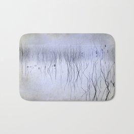 Cormorants in the fog Bath Mat
