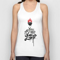 All You Need is Love Unisex Tank Top