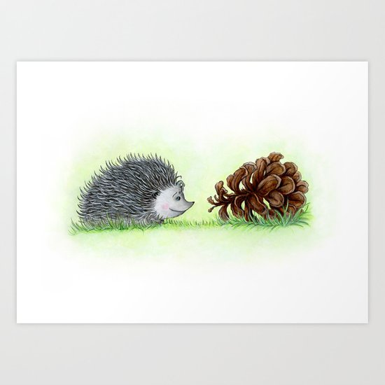 Spiky Duo Art Print