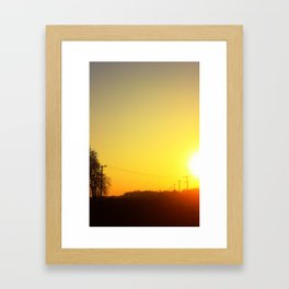 Call To Nowhere Framed Art Print