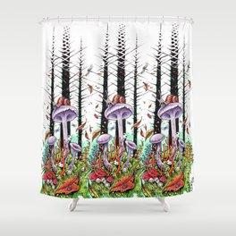 Woodland Wonderment Shower Curtain
