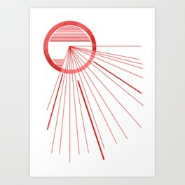 Search for opening! Art Print