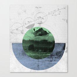 Geomatica Canvas Print