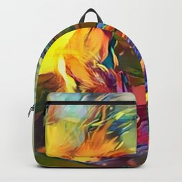Groovy Fire Backpack