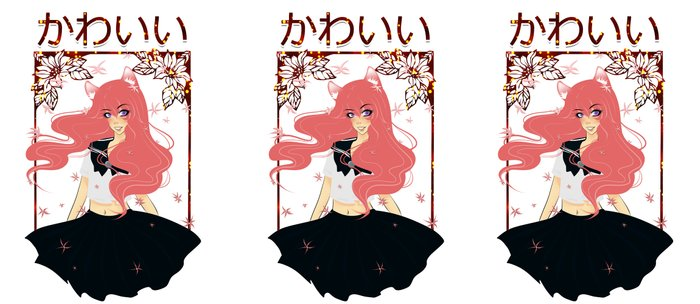 Kawaii Neko Anime Girl Coffee Mug