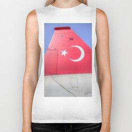 Turkish Air Force Logo Biker Tank