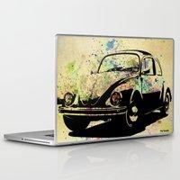 beetle Laptop & iPad Skins featuring Beetle by Del Vecchio Art by Aureo Del Vecchio