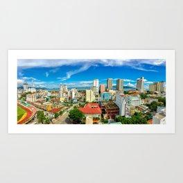 Nha Trang City Art Print