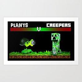 plant warfare Art Print