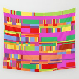 Debussy Little Shepherd (Jelly Bean Colours) Wall Tapestry