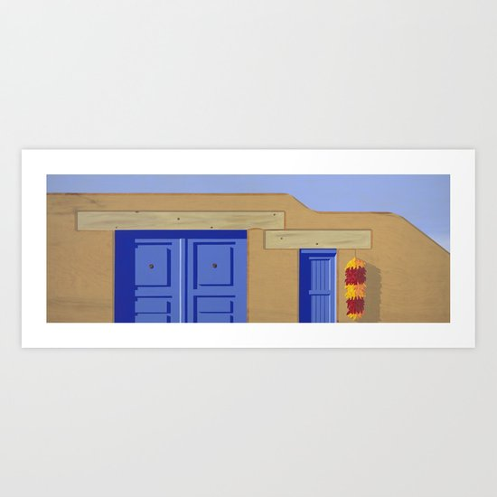 Adobe Wall Art Print