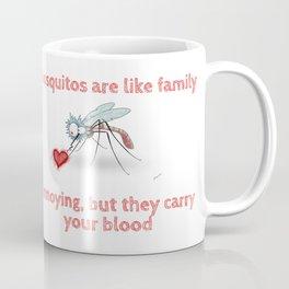 Mosquitos and family Coffee Mug