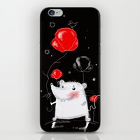 mouse iPhone & iPod Skins featuring mouse  by Katja Main