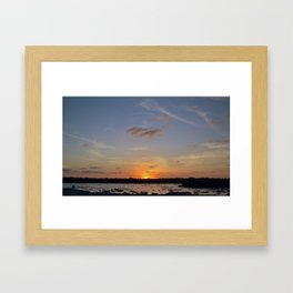 Floating.jpeg Framed Art Print