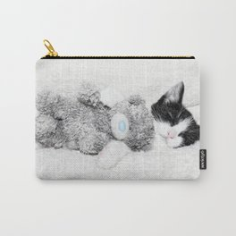 Kitten and teddy Carry-All Pouch