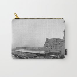 Chicago and North Western Railway Station, Chicago, Illinois Carry-All Pouch