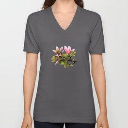 Magnolia Branch Unisex V-Neck