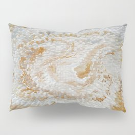 Abstract gold roses Pillow Sham