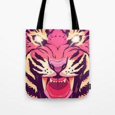 Cool angry tiger Tote Bag