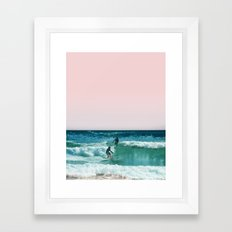 Surfing USA Framed Art Print