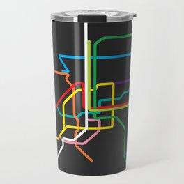 bangkok metro map Travel Mug
