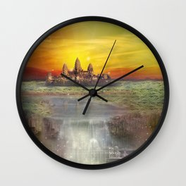 Temple Station Wall Clock