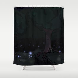 Violet Forest Shower Curtain