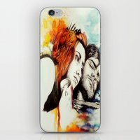 eternal sunshine of the spotless mind iPhone & iPod Skins featuring Eternal Sunshine by Alycia Plank