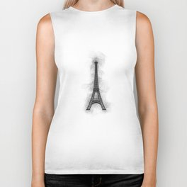 Eiffel Tower - Paris Biker Tank
