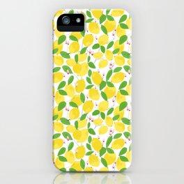 california lemons iPhone Case