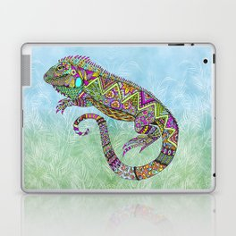 Electric Iguana Laptop & iPad Skin