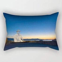 Antibes Sculpture Rectangular Pillow