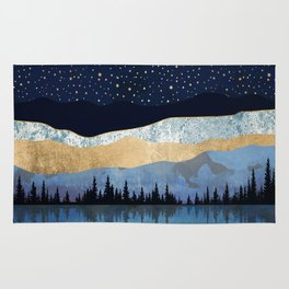 Midnight Lake Rug