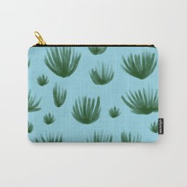 Organ Pipe Cactus: Blue Carry-All Pouch