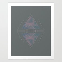 North to South Art Print
