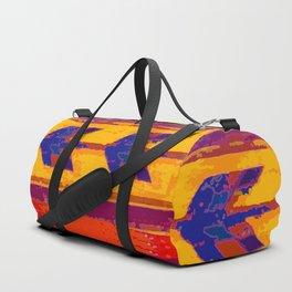 Zopotec Folk Art Duffle Bag