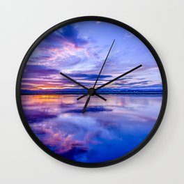 Scottish Sunset Wall Clock