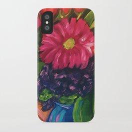 Blooms Gone Wild iPhone Case