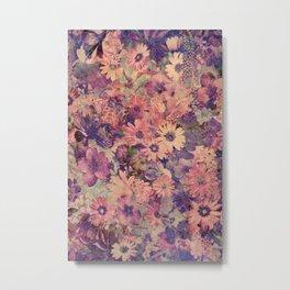 Floral Flood Metal Print