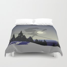 Touch The Morning Sun - Square | DopeyArt Duvet Cover