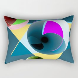 Updated with bowls Rectangular Pillow