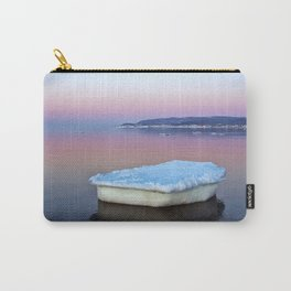 Ice Raft on the Sea Carry-All Pouch