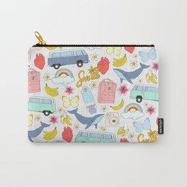 vsco girl - sticker like pattern Carry-All Pouch